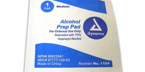 Alcohol Wipes - Box of 100 | Be Ready Earthquake and